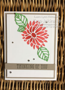 thinking of you all occasion card using Special Reason bundle