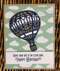 Masculine birthday card by Keep Inking Up