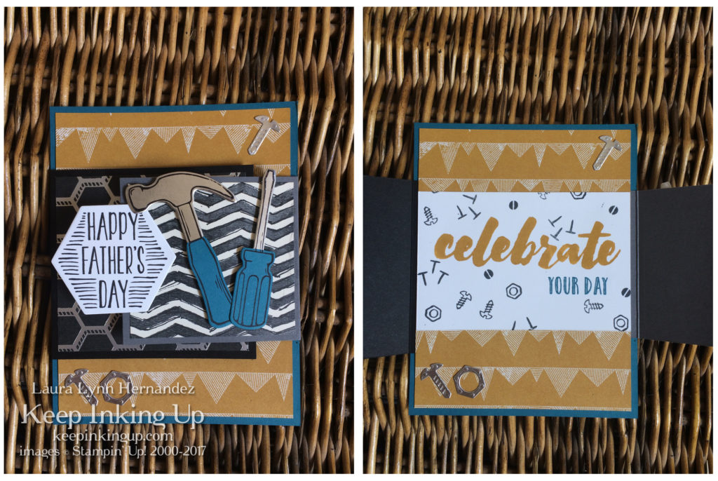 Father's Day card by Keep Inking Up using Nailed It bundle