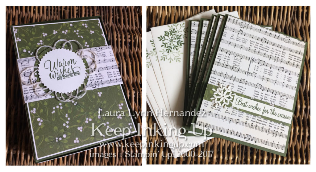 Christmas card set by Keep Inking Up