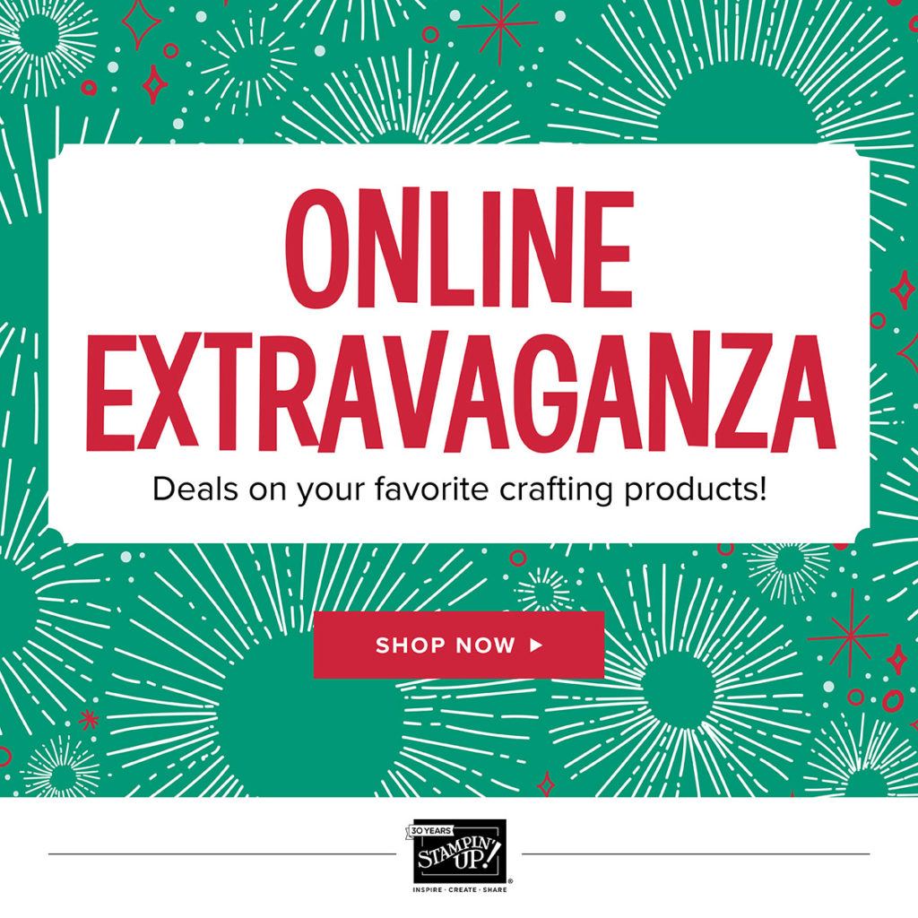 Shop Online Extravaganza with Keep Inking Up