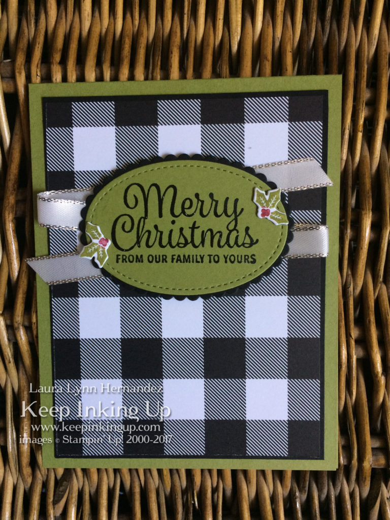 Old Olive Christmas card by Keep Inking Up