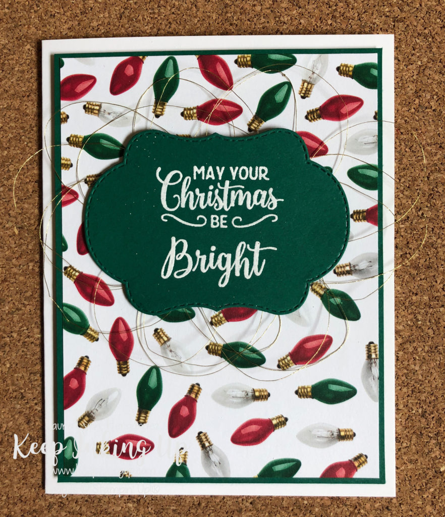 Quick And Easy Christmas Cards Keepinkingup Com